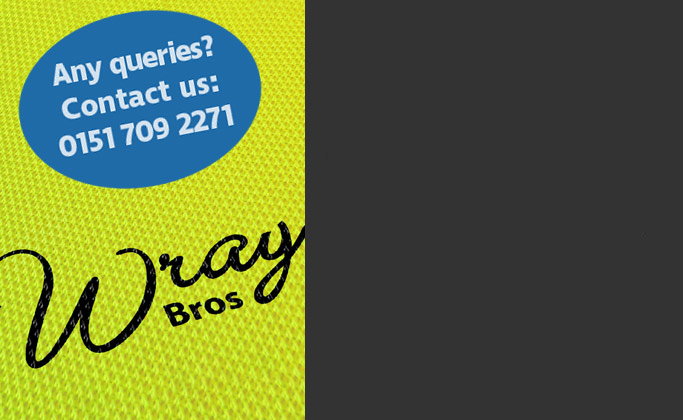 Contact Wray Bros liverpool for en 20471 hi vis workwear information