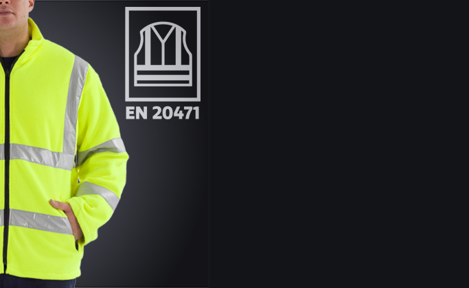 full hi vis workear range made to EN ISO 20471