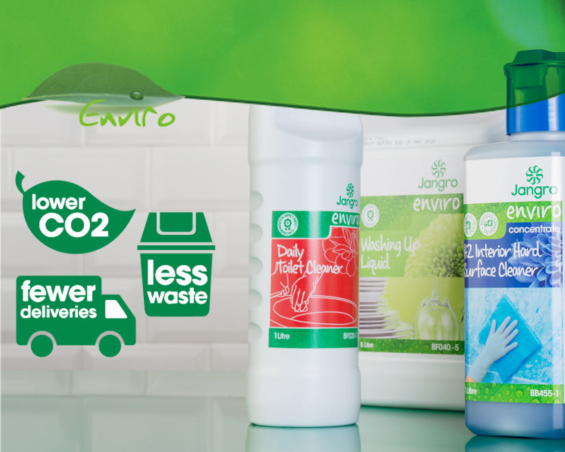 Enviro cleaning products made rto lessen the impact on the environment and your budget.