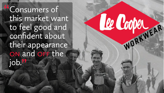 An Interview with Lee Cooper footwear