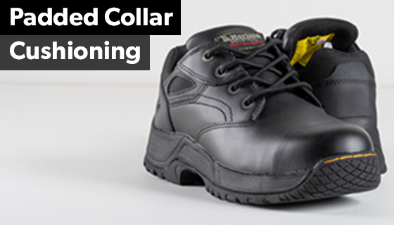 Dr Martens Calvert steel toecap and midsole delivers all-day security and comfort