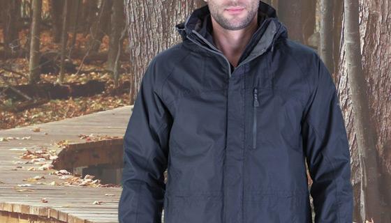 Craghopper kiwi jacket for safe, weatherproof working