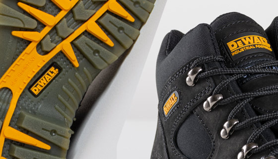 DeWALT Challenger 3 Sympatex S3 Safety Boot SRA steel toe cap to provide protection against failing objects or heavy impact