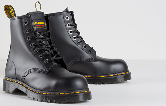 Dr Martens Safety Boots One of Britain's most iconic brands
