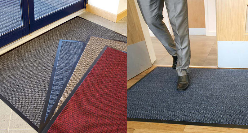 Vyna-Plush is a perfect low cost doormat that provides an all-round performance