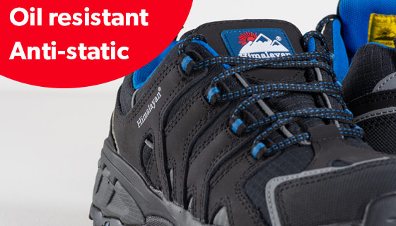 Regatta Professional Rapide SB Knit Safety Trainer fuel oil resistant outsole and energy absorbing cushioned heel