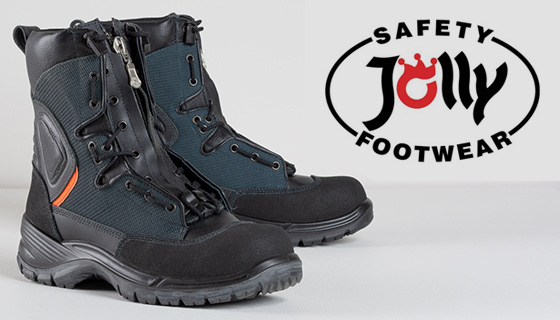 Jolly Safety Footwear with trademarked Gore-Tex technology, the Italian manufacturer produces some of the most practical, yet comfortable footwear.
