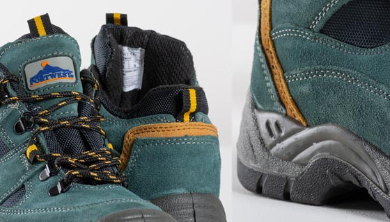 Steelite Hiker Boot FW60 suede leather is lightweight and features a scuff cap