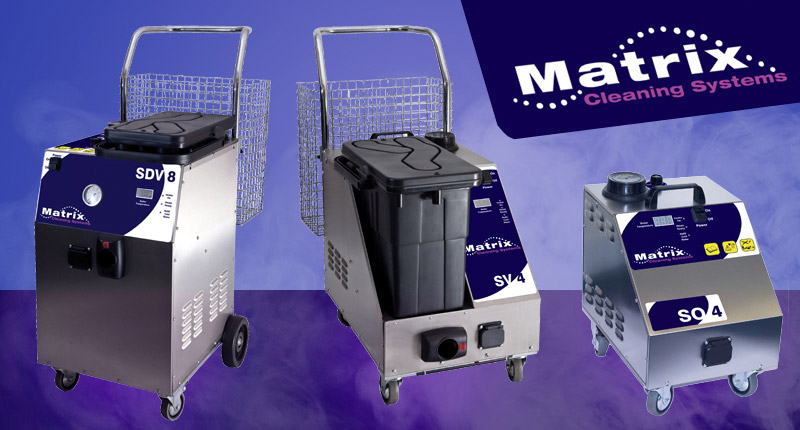 Matrix Steam Detergent and Vacuum Cleaning Machines