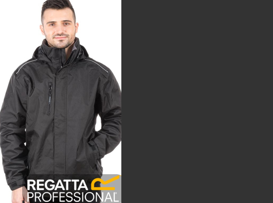 The Regatta Professional Marauder 2 Reflective Insulated Jacket hi vis panels