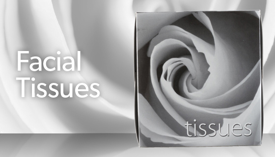 soft and gentle tissues that are kind to the skin