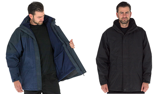Portwest Aviemore jacket is a EN 343 Class 3:1