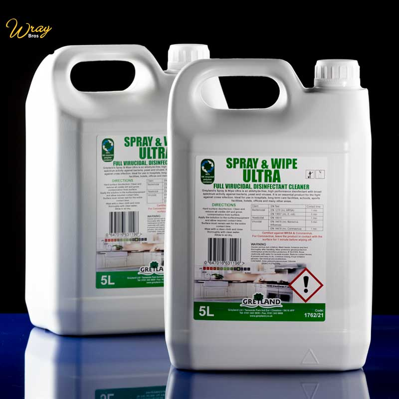 Greyland Spray and Wipe Ultra 5litre