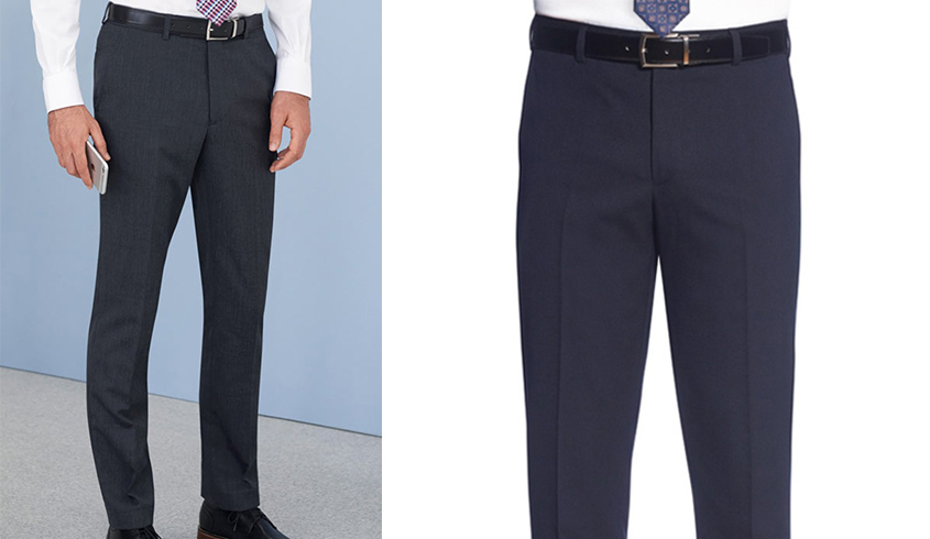 Brook Taverner Holbeck Trousers in a slim fit design, flat front and 2 side pockets, 1 rear pocket..