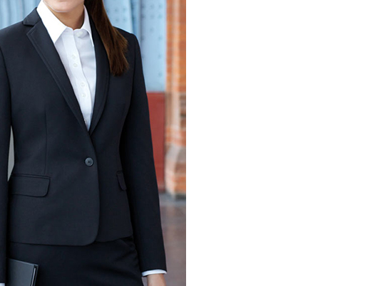 Brook Taverner tailored fit jacket with one button fastening and centre vent.