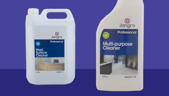 Commercial hard surface cleaners tackle the stubborn stains and grime