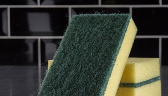 specialist colour coded scouring pads