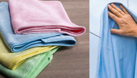 Learn more on the differences between tradition cleaning cloth and microfibre wipes