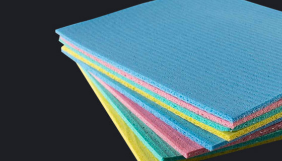 Dish cloths, tea towels to textile cleaning cloths like sponge cloths and microfibre cloths
