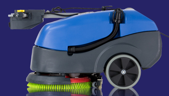 Commercial scrubber dryers inc Numatic and Nilfisk