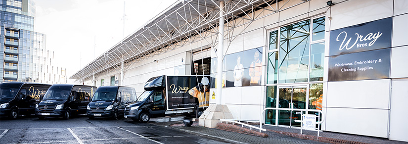 Wray Bros premises at Glacier Building, Liverpool.