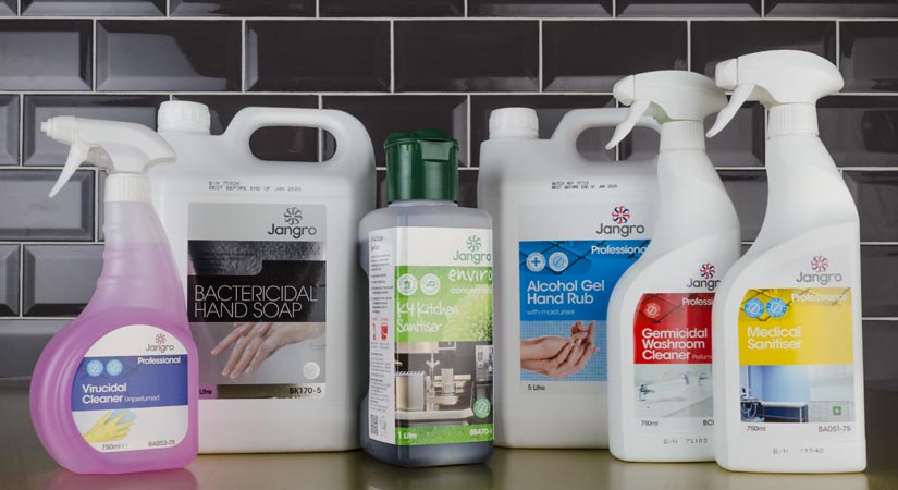 bleaches and disinfectants