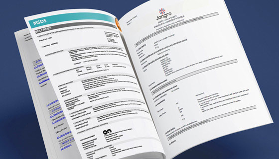 Safety Data Sheets for boots, shoes and trainers footwear