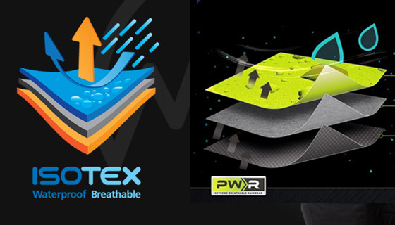 GORE-TEX rainproof and waterproof and other products and materials.