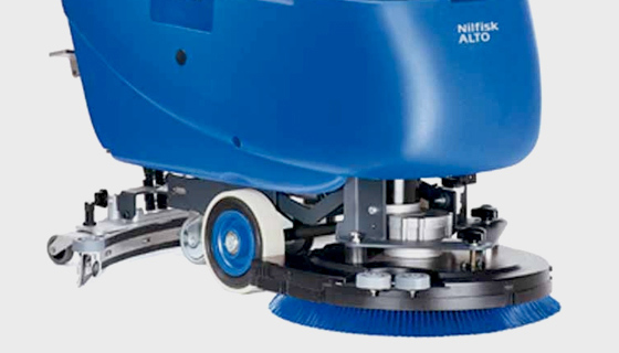 How Scrubber Dryers are designed to scrub a floor and dry it in a single operation
