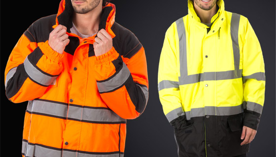 Hi vis traffic and high vis bomber jacket range