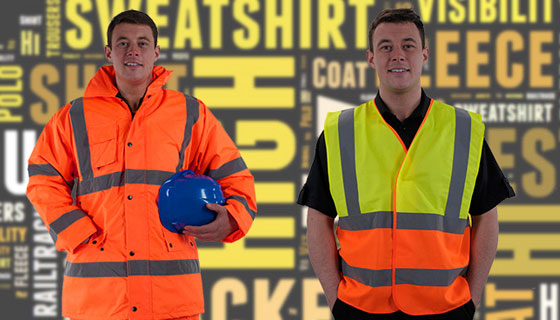 Information on construction, warehousing or security the state of your hi vis vest