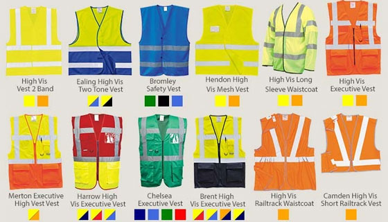 Increasing styles and brands of high visibility workwear