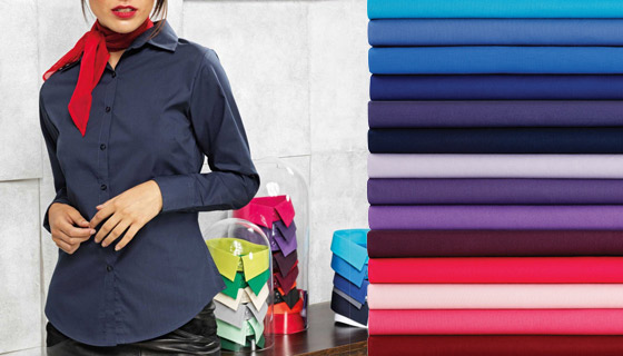 Womens hospitality clothing for in 20 - 40 colour options