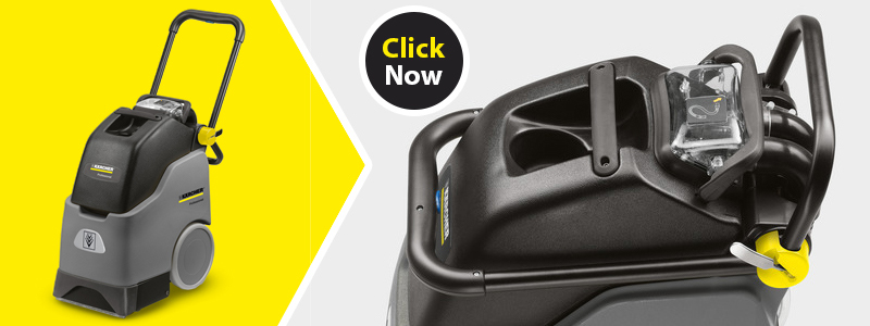 Karcher Walk Behind Carpet Extractor BRC 30/15 for ideal for spot cleaning carpets