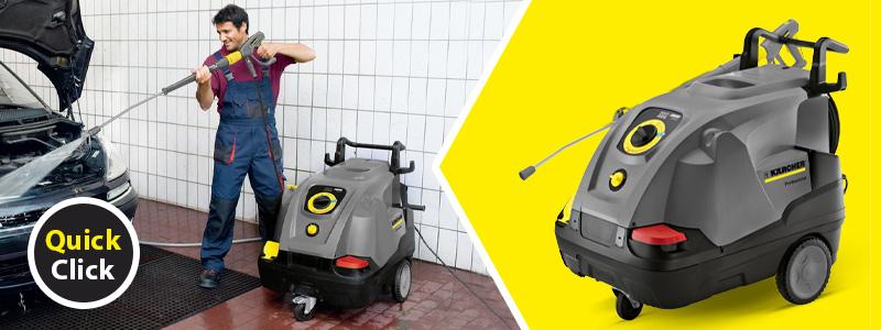 Karcher Pressure Washer Hot Water HDS 6/12 C reduces diesel consumption