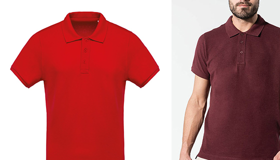 Kariban organic cotton polo shirt for men KB209.