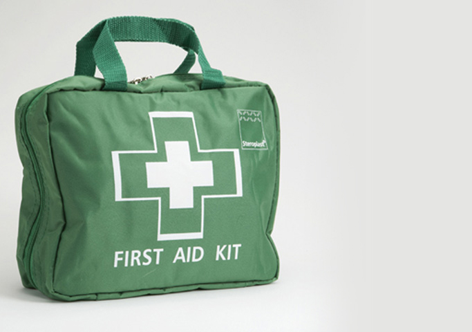 large and small workplace first aid kits satisy your legal obligations