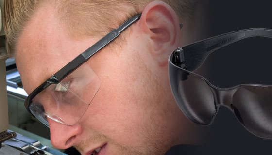 Safety spectacles that offer comfort, protection but with style