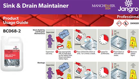 washroom and housekeeping cleaning chemical product guides for the university of manchester
