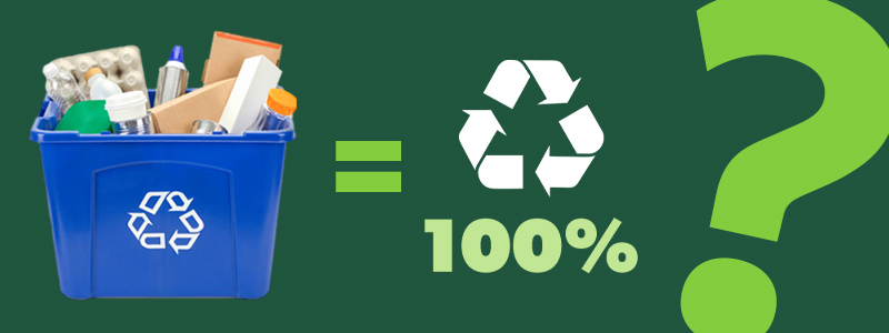 All Recycling is Recycled