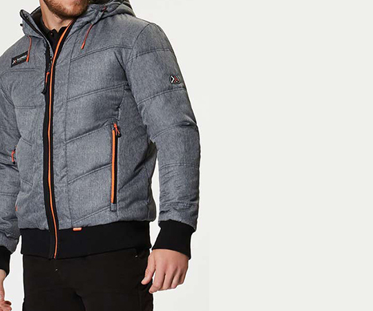 The Regatta Professional Tactical Thrust Bomber jacket with contrast seams