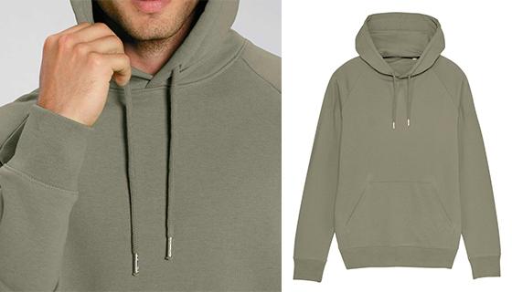Stanley/Stella organic cotton men's hoodie STSM565