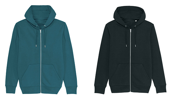 Men's Zip-Up Hoodie from Stanley/Stella STSM566.