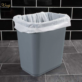 Square bin liners use around workplace