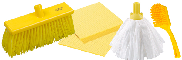 Colour Coded Cleaning Supplies For Cleaners Wray Bros