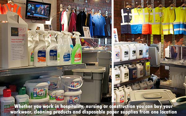 The Wray Bros lIverpool trade counter is ideal for local businesses such as construction, contract cleaners, nurseries, salons, hotels and restaurants