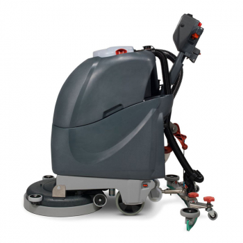 Cordless scrubber dryer , adjustable