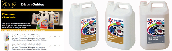 jangro floorcare chemical dilution tips