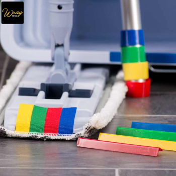 Vileda Ultraspeed colour coded mopping