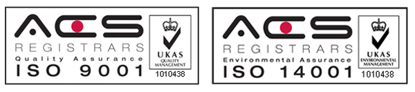 Wray Bros ISO 9001 and ISO 14001 accredited